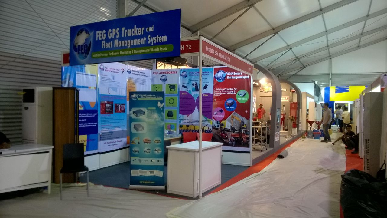 FEG GPS Stand at IIMS