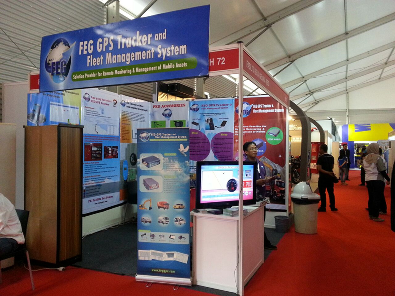 Overview stand of FEG GPS