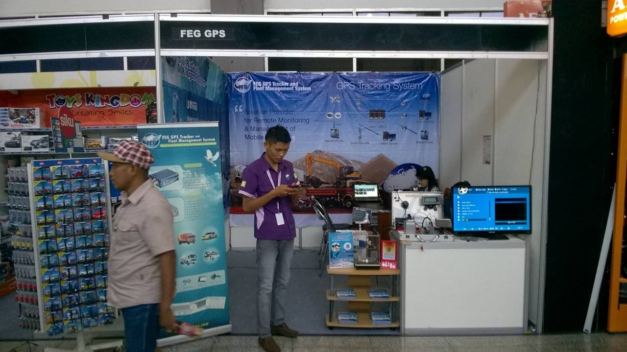 FEG GPS Stand at POMA 2016
