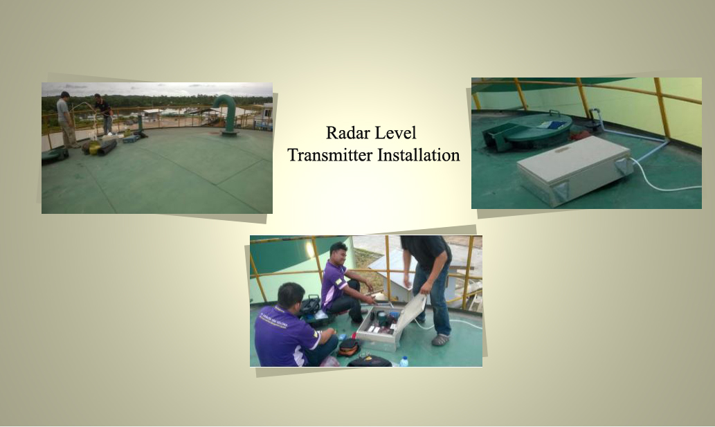 Radar Level Transmitter Installation