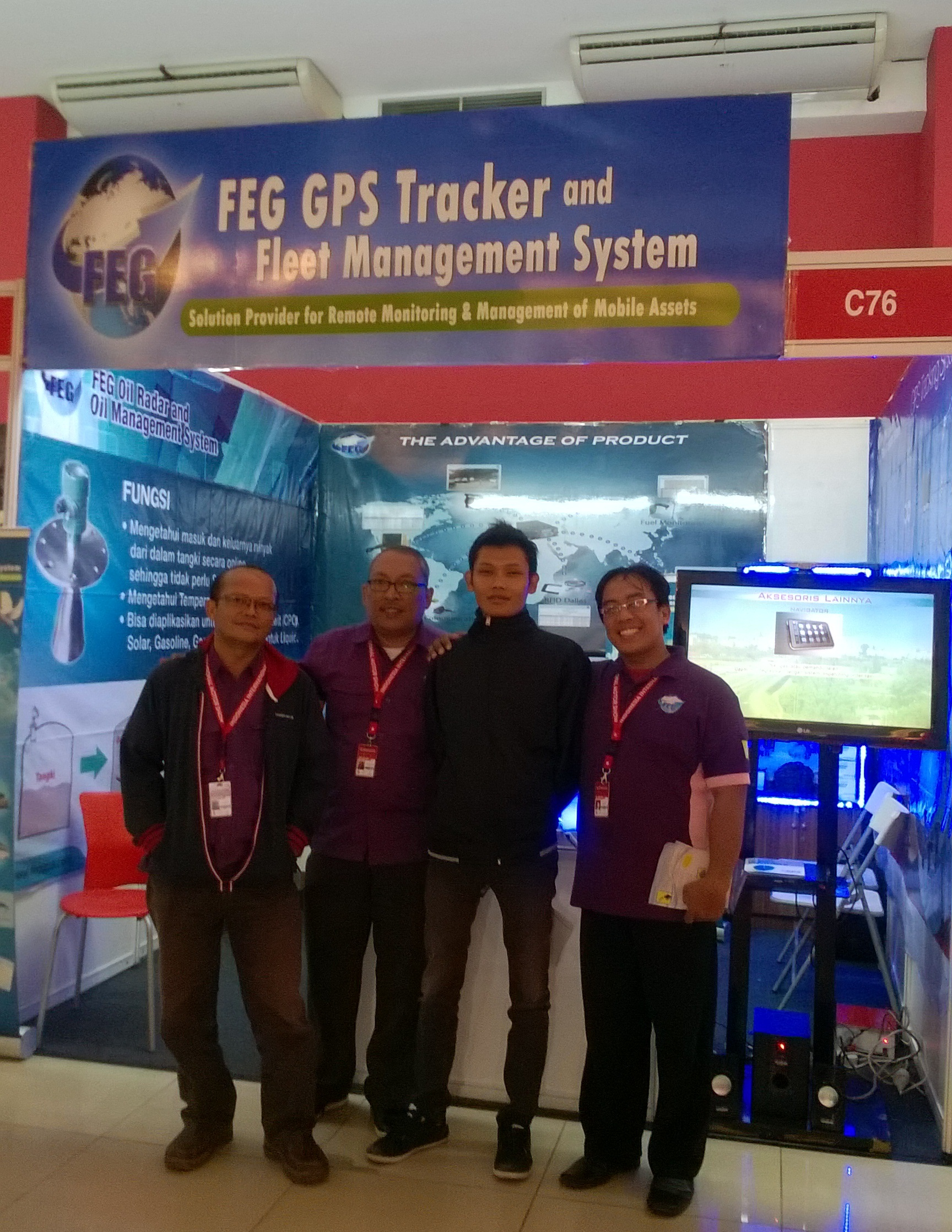 Explain to customer about FEG GPS